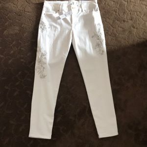 New, White House Black Market Skinny Crops Jeans